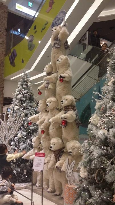Dancing Bears at the Hyundai Department Store
