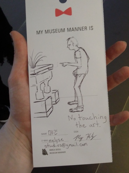 My Museum Manner